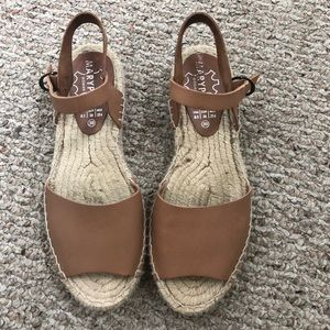 Shoes - Leather espadrilles